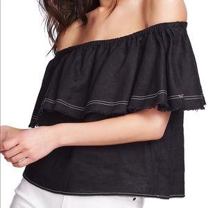 Zara Tops - Zara Linen blouse